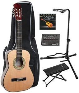 Classic Cantabile AS-851 guitarra de concierto 1/2 Set