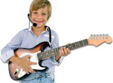 guitarra electrica para niños