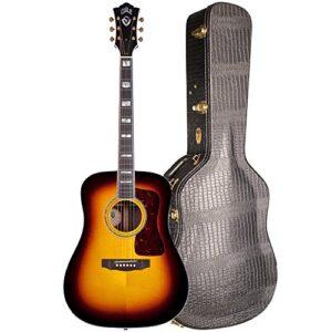 Electro Acoustic Folk GuitarGuildD-55 ATBI