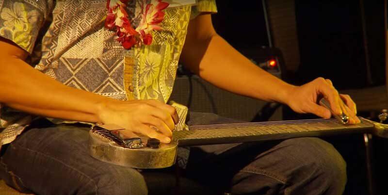 guitarra hawaiana